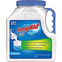 Damp Rid DampRid Moisture Absorber Super Refill 3.4 kg, 3.4 kg, Fragrance Free 3.4 kilograms