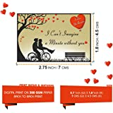 Vantagekart 100 Romantic Cards Why I Love You with Reasons Which is Ideal for Husband/Wife/Girlfriend/Boyfriend Birthday and Marriage Anniversary Gift (7cm x 4.5 cm)