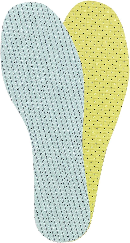 Kaps Plantillas para Zapatos con Doble Capa de Espuma de Látex, Unisex, Insertos Neutralizantes de Olores, Duo Latex