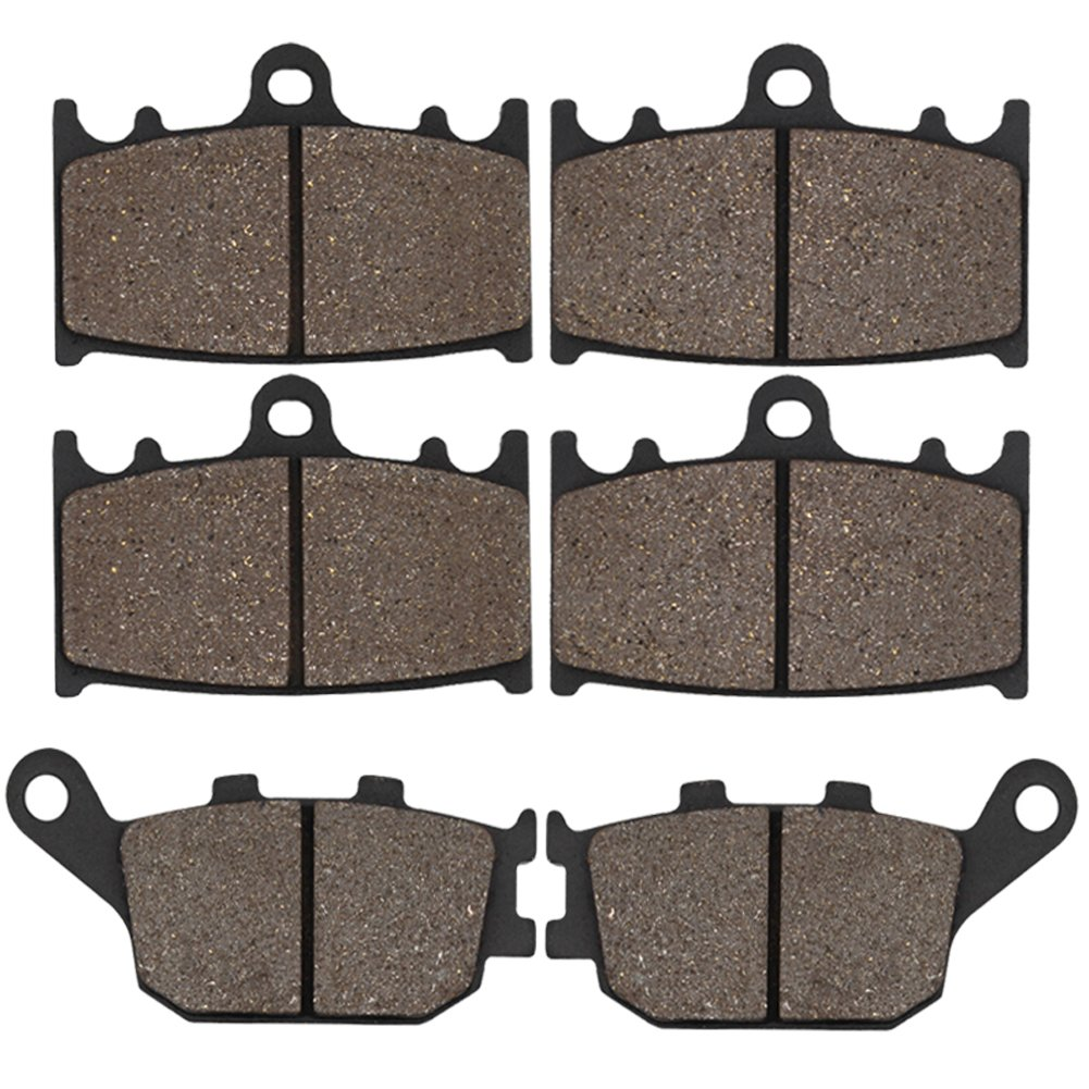 Cyleto Front and Rear Brake Pads for GSX650F GSX650 F GSX 650 F 2008 2009 2010 2011 2012 2013 2014