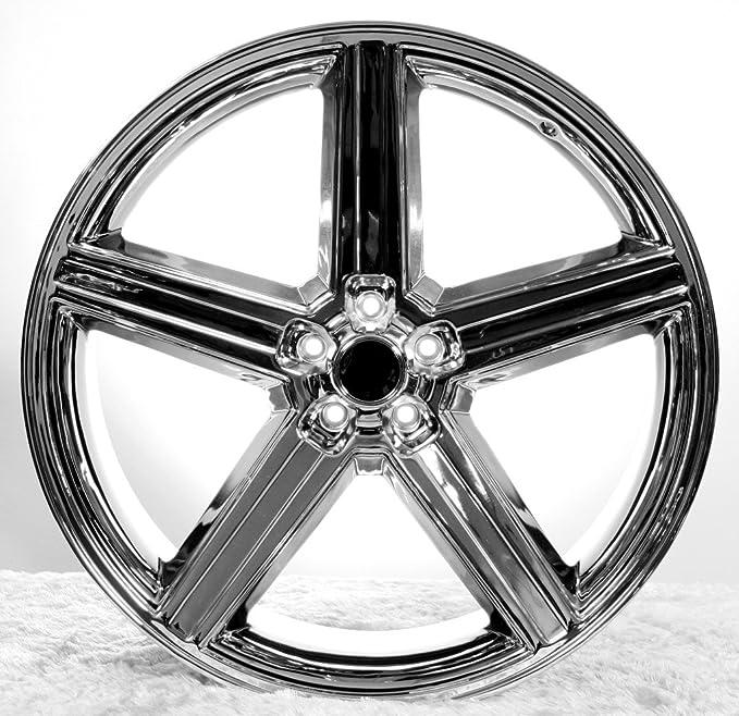 Amazoncom 24 Iroc Chrome Wheels Tires Pkg Fits On 5 And 6 Lug