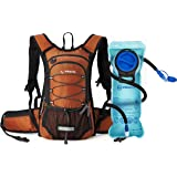 MIRACOL Hydration Backpack with 2L Water Bladder, Thermal Insulation Hydration Pack Keeps Liquid Cool up to 4 Hours, Prefect Outdoor Gear for Hiking, Running, Camping, Cycling
