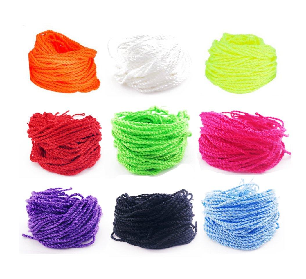 108PCS TKOnline Yoyo String Multi-color, Pro-poly String. (9 Styles)