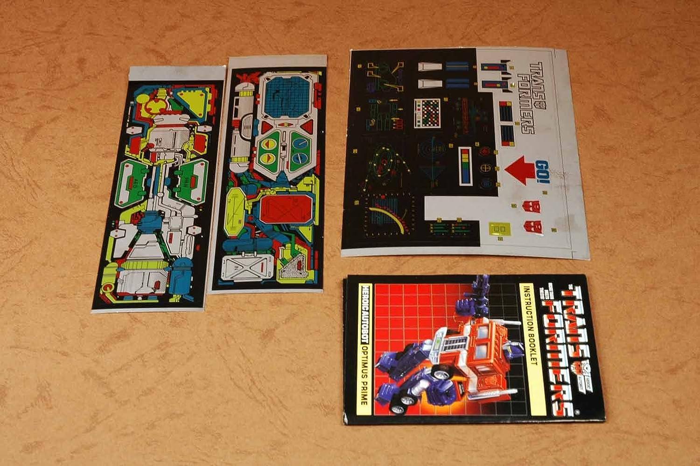 Transformers Optimus Prime G1 Autobot Reissue Edition: Amazon.es: Juguetes y juegos