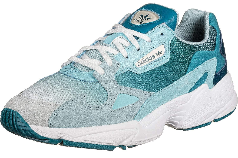 adidas Falcon Damen Sneaker Blau: : Schuhe