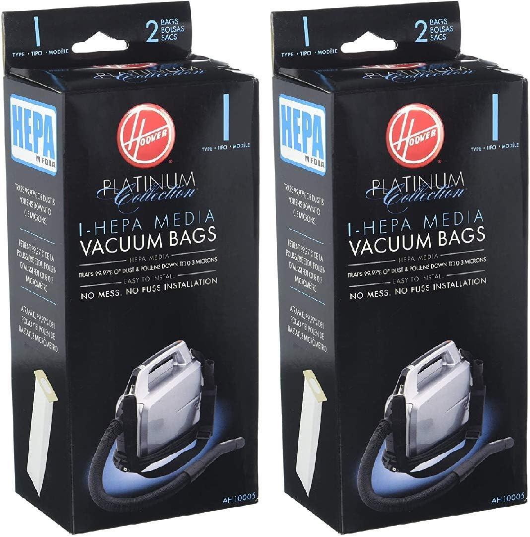 LHG Hoover Type I HEPA Bag (4-Pack), (AH10005 X 2)