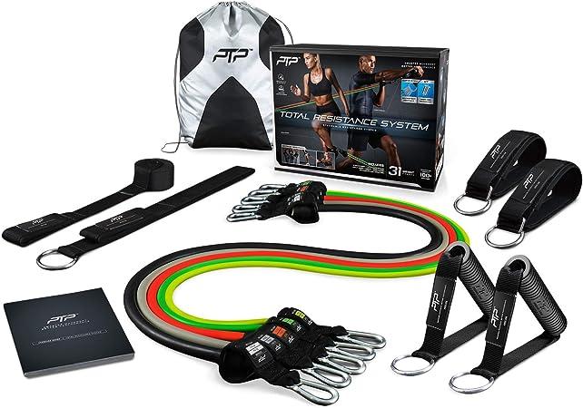 PTP PowerTube Pro total RESISTANCE extenseurs home training système Bracelet connecté