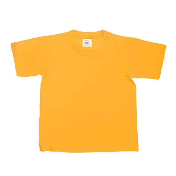 Kids Children Boy Girl B/&C  Exact 150 100/% Cotton Short Sleeve T Shirt