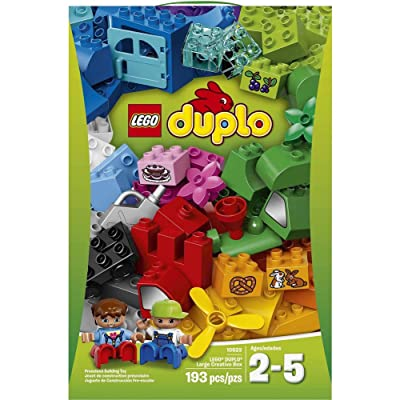 LEGO Duplo - Large Creative Box 10622 (193 Pieces): Toys & Games