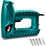 Electric Brad Nailer, NEU MASTER Staple Gun N6013 with Contact Safety and Power Adjustable Knob for Upholstery and Home…