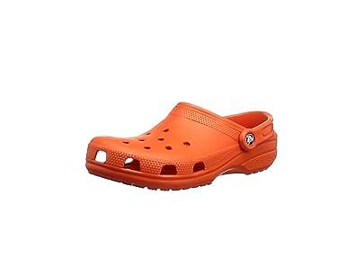 crocs Classic, Unisex - Erwachsene Clogs, Orange (Tangerine), 36-37 EU