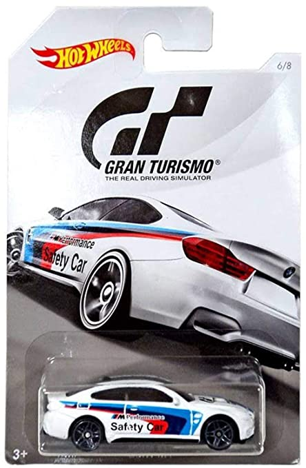 Hot Wheels Bmw M4 2018 Gran Turismo Series 2 White Bmw M4 1 64 Scale Collectible Die Cast Metal Toy Car Model 6 8