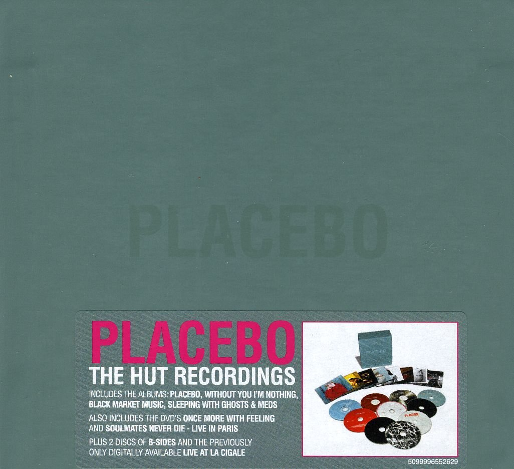 Hut Dvd: Placebo The Hut Recordings Box Set Rare LImited 8 CD + 2