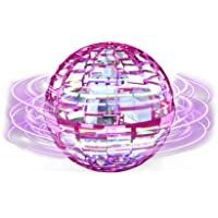 Flying ball Fidget Toys 2021 Upgraded Cool Magic Fly Orb Ball Mini Drones Toy, Flying Spinner Hand Gecontroleerd met 360…