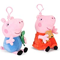 Peppa  Pig and George Pig Plush Gift Box Combo, Multi Color