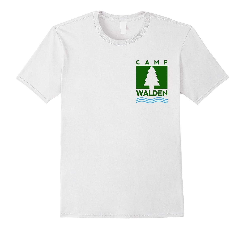 Camp Walden Pocket T-Shirt | Girls Summer Camp Tee-T-Shirt