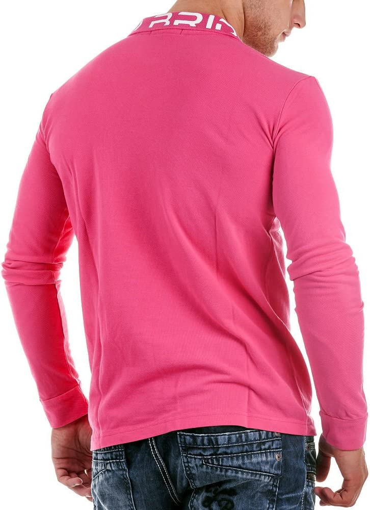 Redbridge - Polo de manga larga para hombre, talla 2XL, color ...