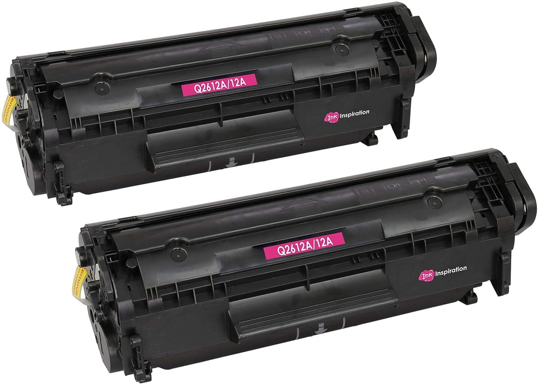 INK INSPIRATION® Tóner Compatible con HP Q2612A 12A Laserjet 1010 ...