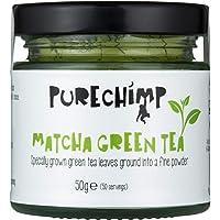 Matcha Green Tea Powder (Super Tea) 50g by PureChimp - Ceremonial Grade From Japan