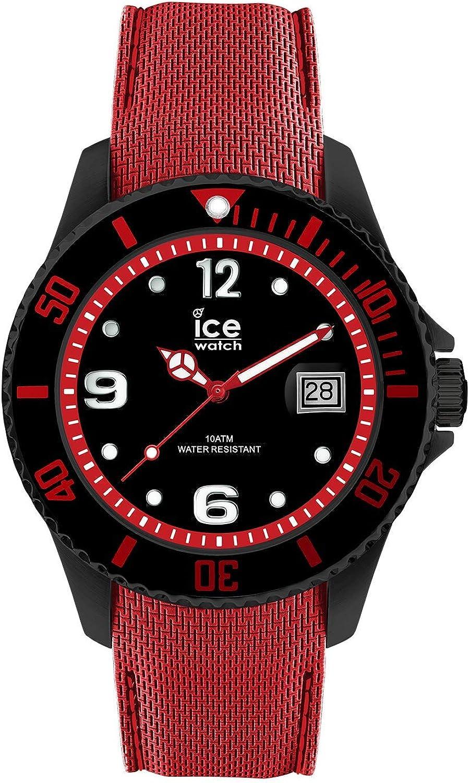 ICE-WATCH Reloj Analógico para Hombre de Cuarzo con Correa en Silicona