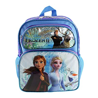 "Disney's Frozen 2-12"" Deluxe Toddler Size Backpack - Ice Memory - A18966 