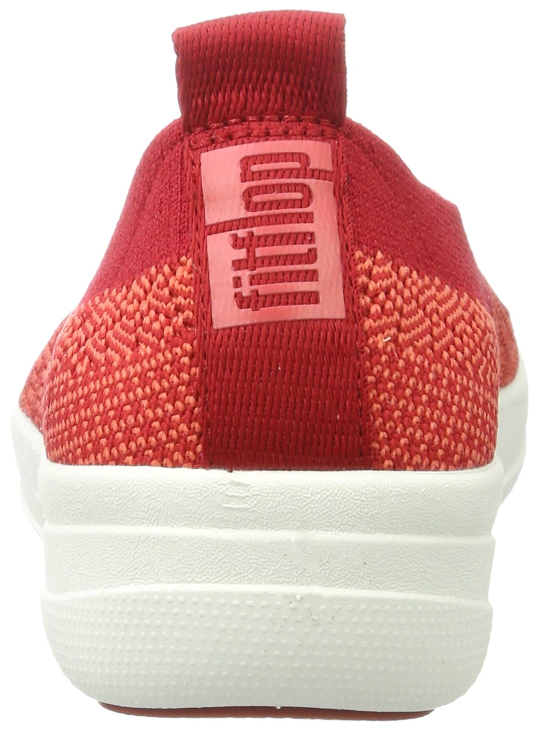Fitflop H95 Women's Uberknit™ Slip-On Ballerinas, Classic Red - 8.5 by FitFlop (Image #2)