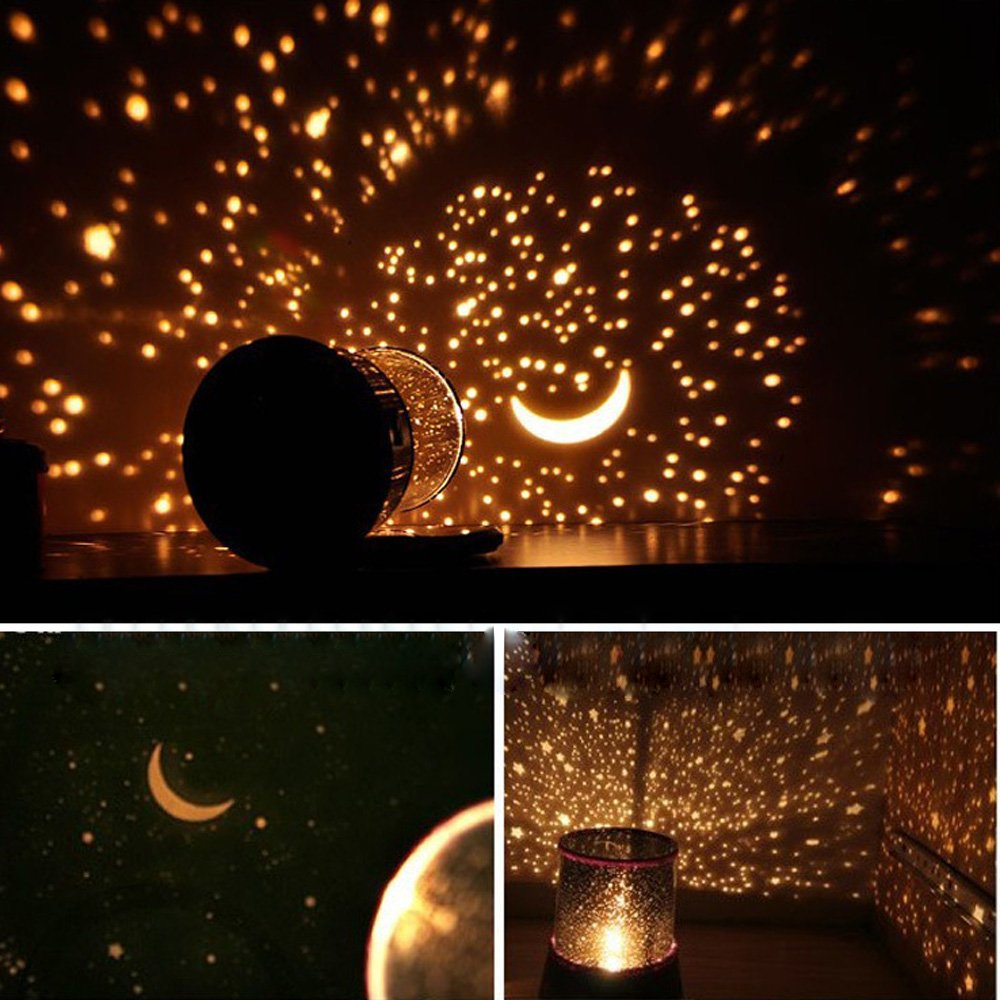 romantic sky star master projector lamp led cosmos night light