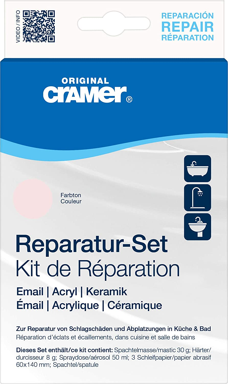 Cramer 16500 Sanitä r-Reparatur-Set fü r Keramik, Email und Acryl, whisper-rosa B00ASLLGEK