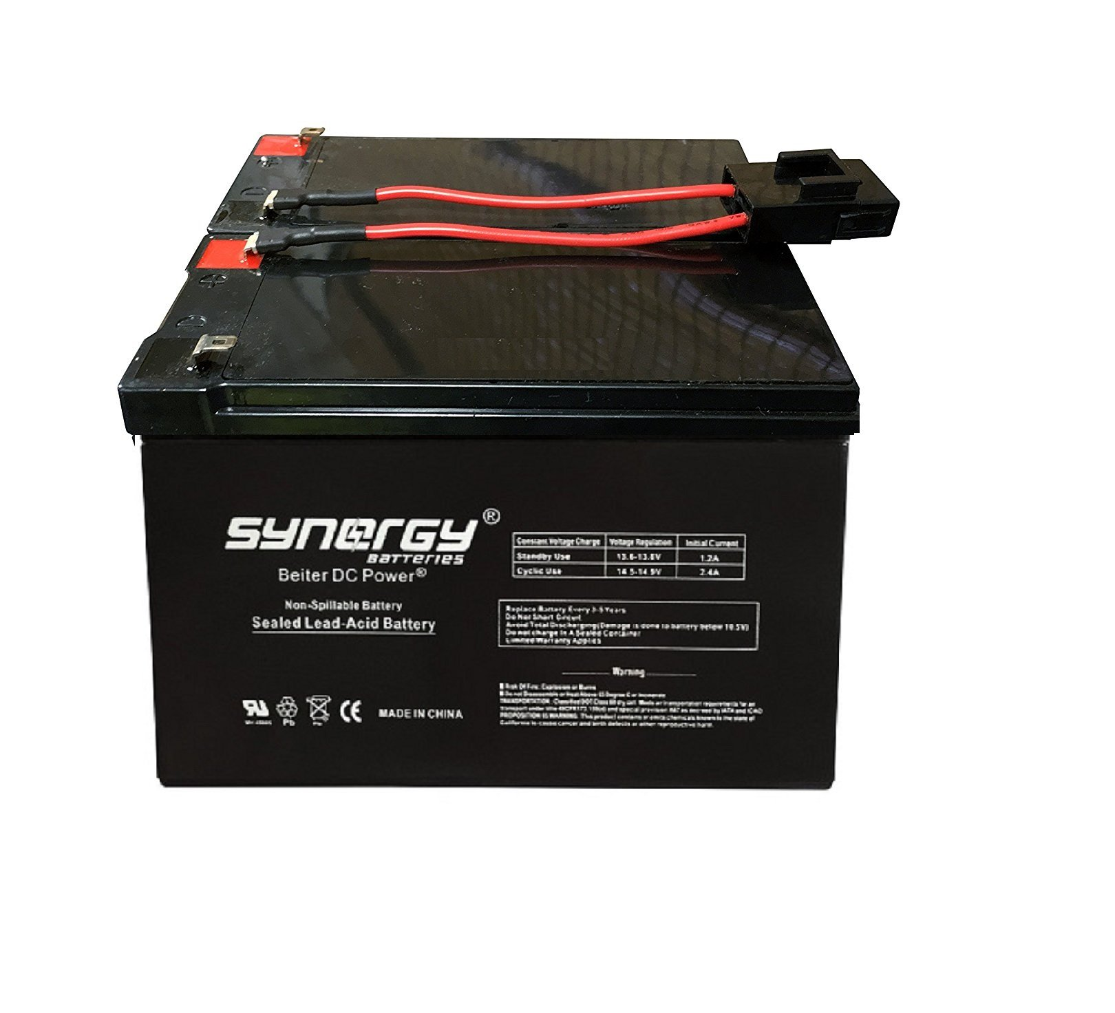 APC Smart-UPS SMT750 High Performance Replacement Battery Beiter DC Power
