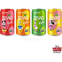 Zevia Kidz Variety Pack, 7.5 Oz Cans (Pack Of 24)