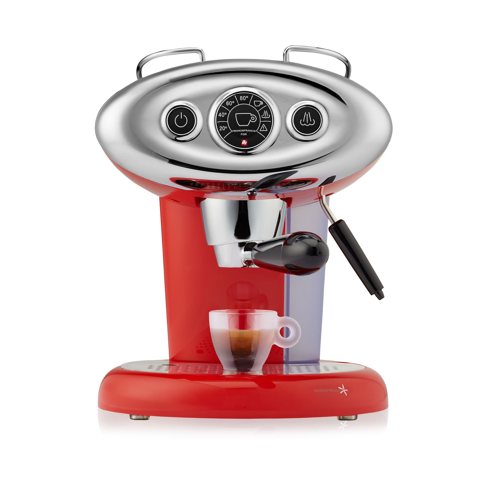 Francis Francis X7.1 Iperespresso Machine, Red by Francis Francis for illy