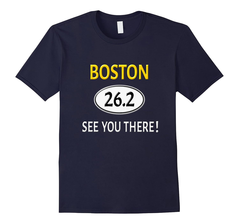 Boston 26.2 Novelty Shirt 26.2 Shirt-T-Shirt