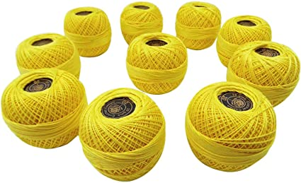 Anchor Cotton Crochet Set Of 10 Pcs Knitting Thread Tatting Yarn Embroidery Ball