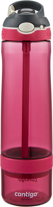 Contigo AUTOSPOUT Straw Ashland Water Bottle with Infuser, 26 oz., Very Berry
