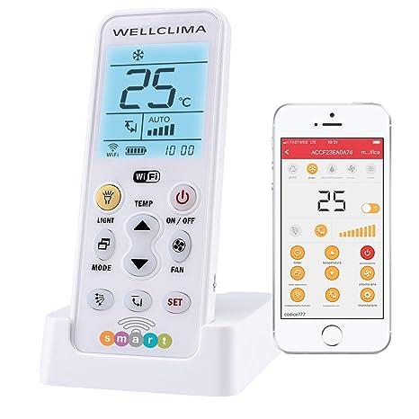 Wellclima Smart - Mando a distancia universal Wi-Fi para ...