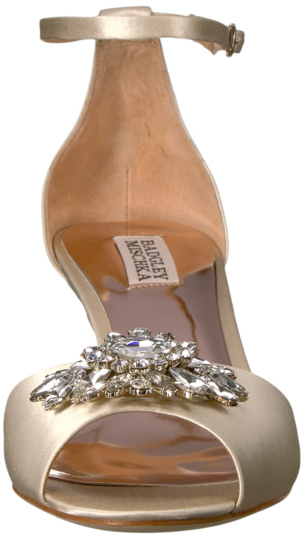 Certified Refurbished Badgley Mischka Womens Sainte Heeled Sandal