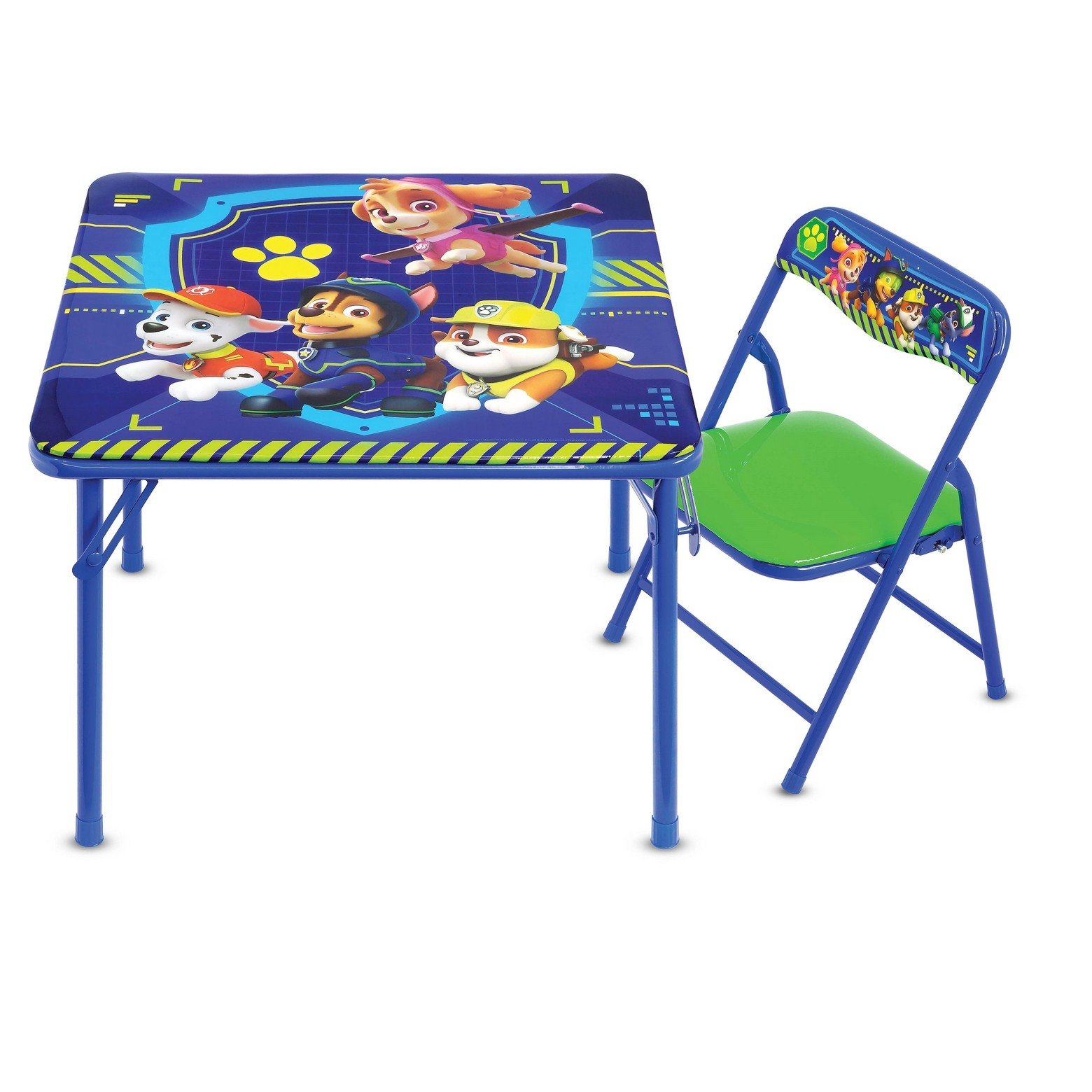 Paw Patrol Junior Table & Chair Set, Folding Table & Padded Chair by Paw Patrol