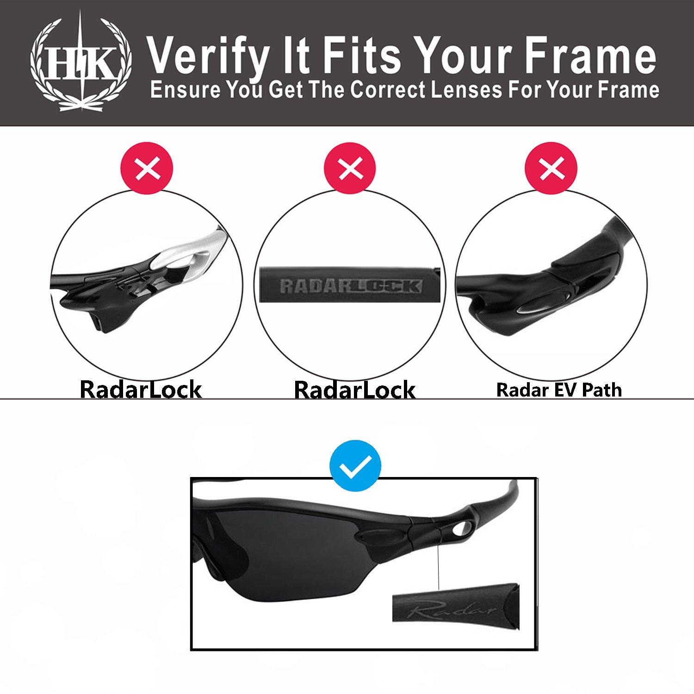 HKUCO Red/White Replacement Silicone Leg Set For Oakley Radar Sunglasses Earsocks Rubber Kit TviaB7vw8W