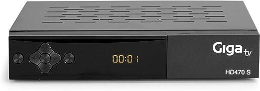 GIGATV Sintonizador HD470 S - Sintonizador satélite DVB-S2