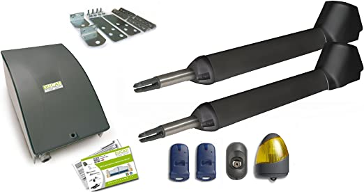 DUCATI SW7000T Kit de motorización con Motores 12V para cancelas batientes: Amazon.es: Bricolaje y herramientas