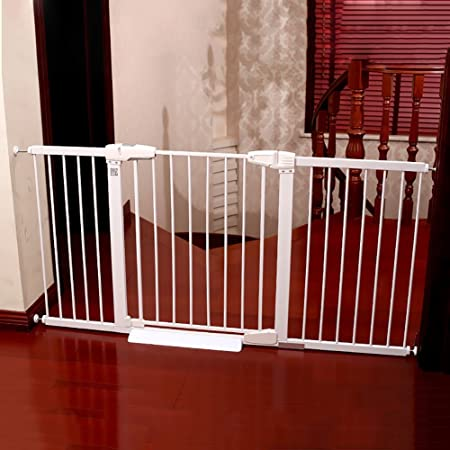 Safety Gate Extra Wide And Tall Baby Gate Pressure Mounted
