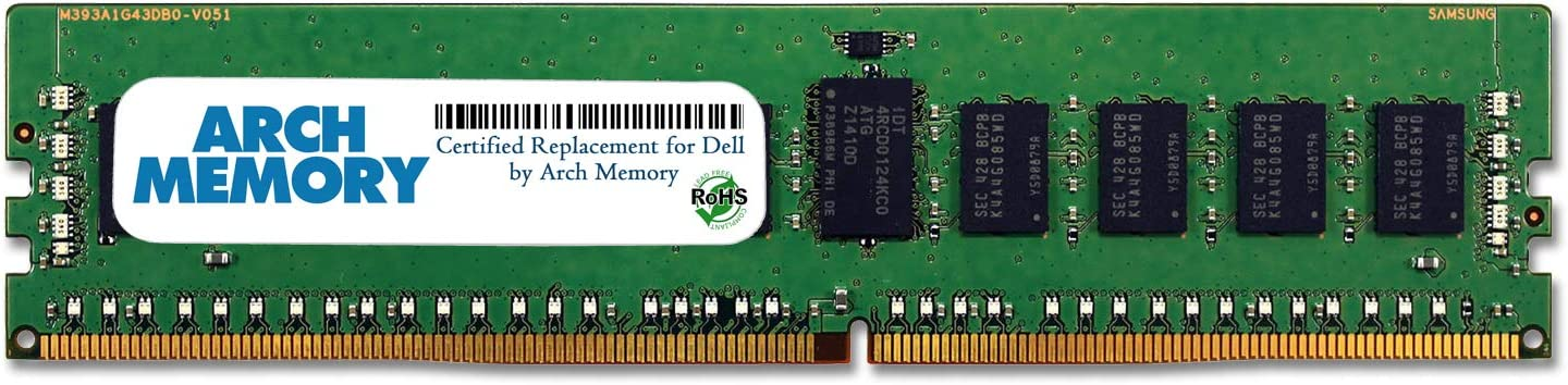 Arch Memory Replacement for Dell SNPHNDJ7C//16G A8711887 16 GB 288-Pin DDR4 ECC RDIMM Server RAM for Poweredge R830