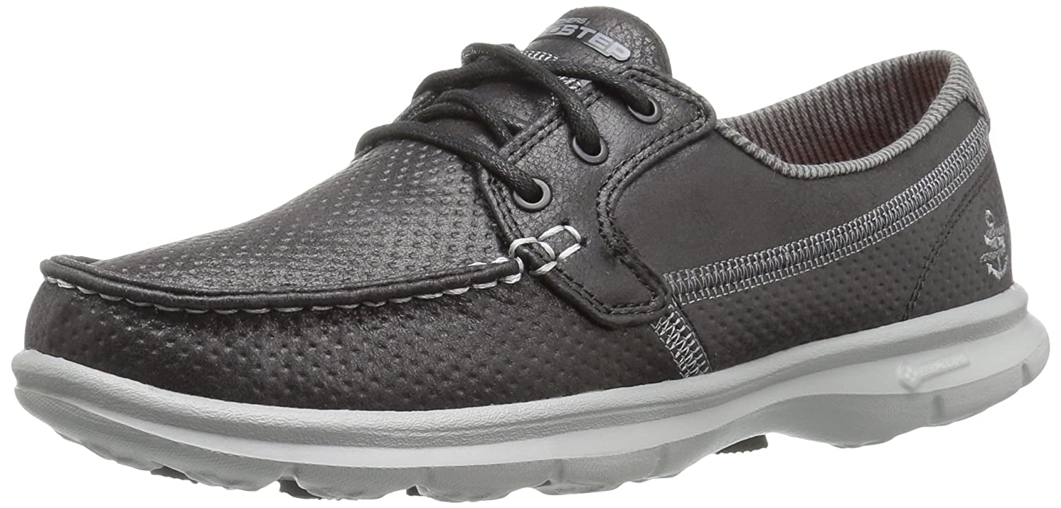 Skechers Performance Women's Go Step-Seashore Boating Shoe B01IIBFUMU 7 B(M) US|Black