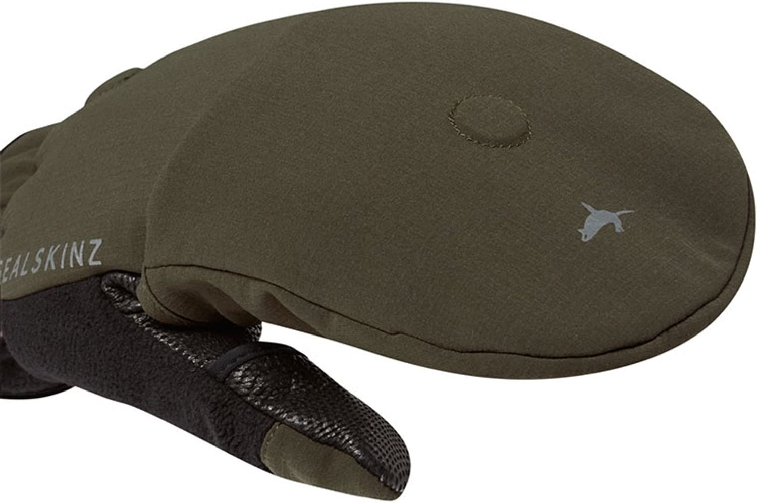 SealSkinz Mens Windproof Cold Weather Convertible Mitten