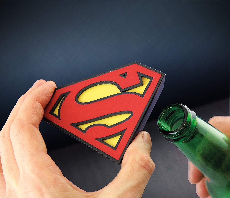 DC Comics Superman Magnetic Bottle Opener Genuine Superman!