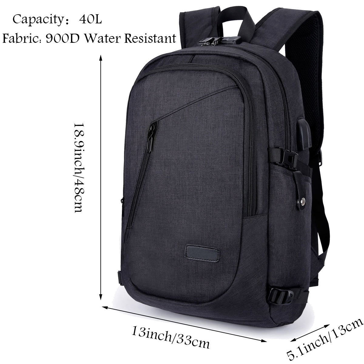 477c81fe37 Amazon.com  Business Laptop Backpack