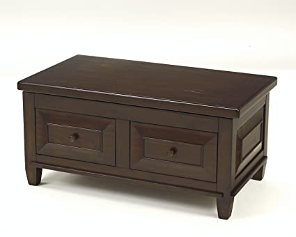 Hindell Park Coffee Table.Ashley Furniture Signature Design Hindell Park Liftside Cocktail Table Dark Brown