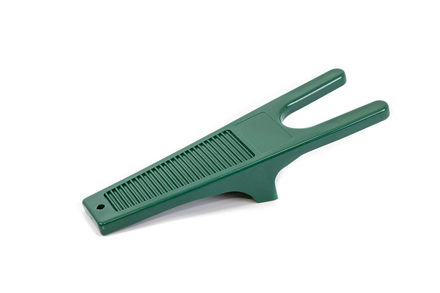 Boot Jack Welly Boot Remover Puller with Scraper Durable Construction - Ideal For Wellingtons Riding or Walking Boots and Muddy Shoes Dark Green,