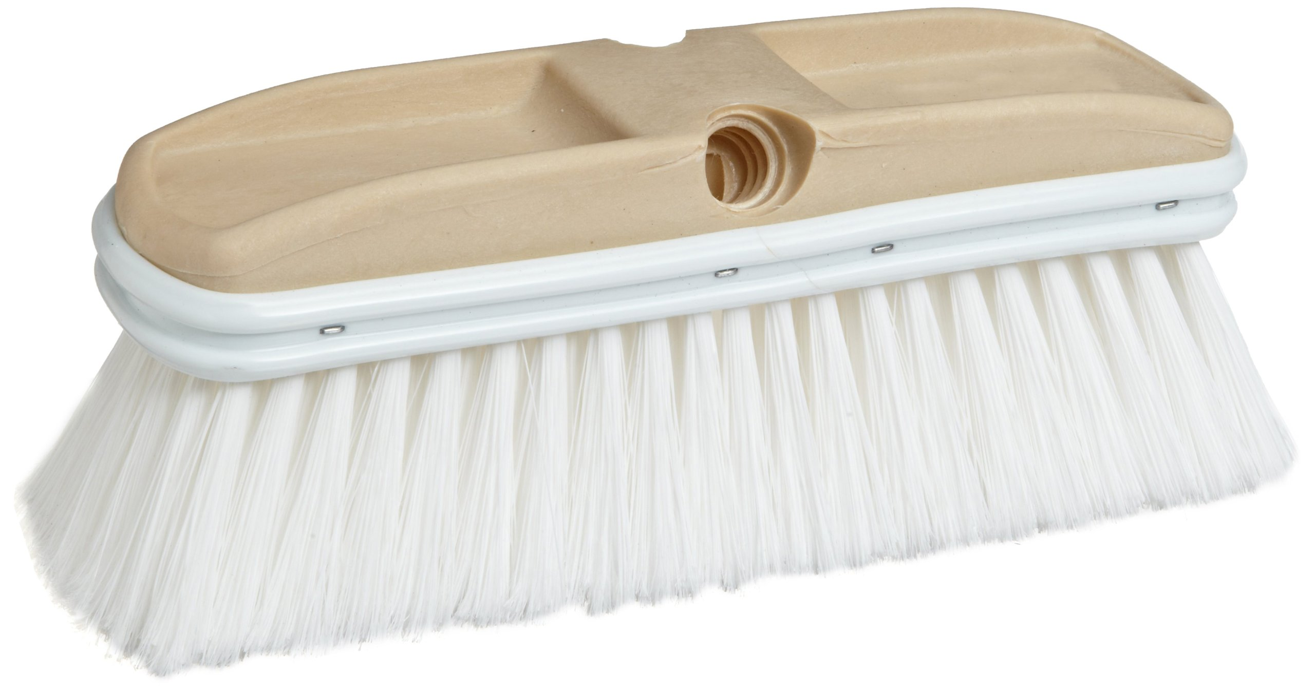 Weiler 44510 Polystyrene Vehicle Care Wash Brush, 2'' Head Width, 9-1/2'' Overall Length by Weiler