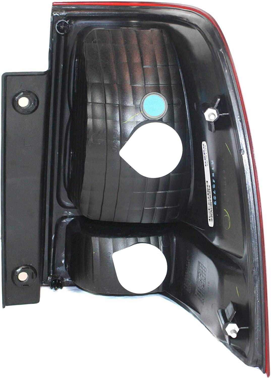 Tail Light Lens and Housing Compatible with 2003-2006 Ford Expedition Driver Side